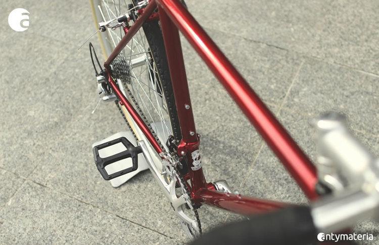 Rower przełajowy crimson
