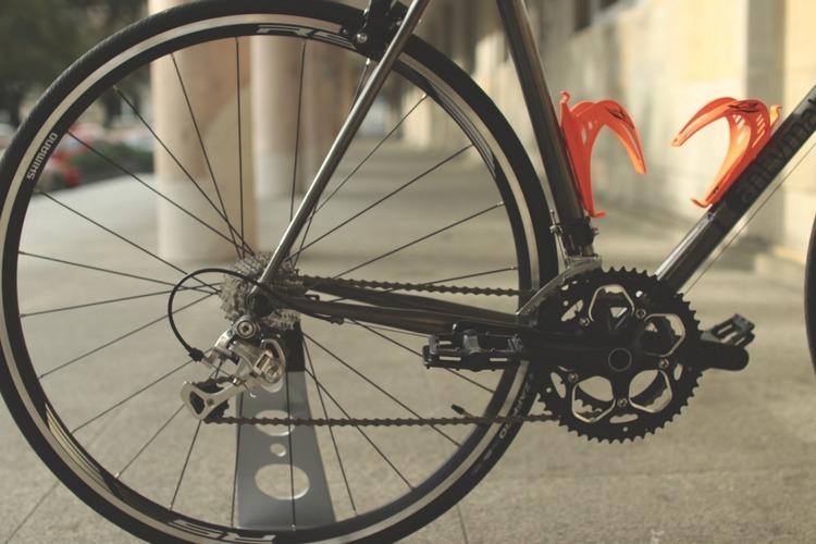 Rower szosowy black chrom 54