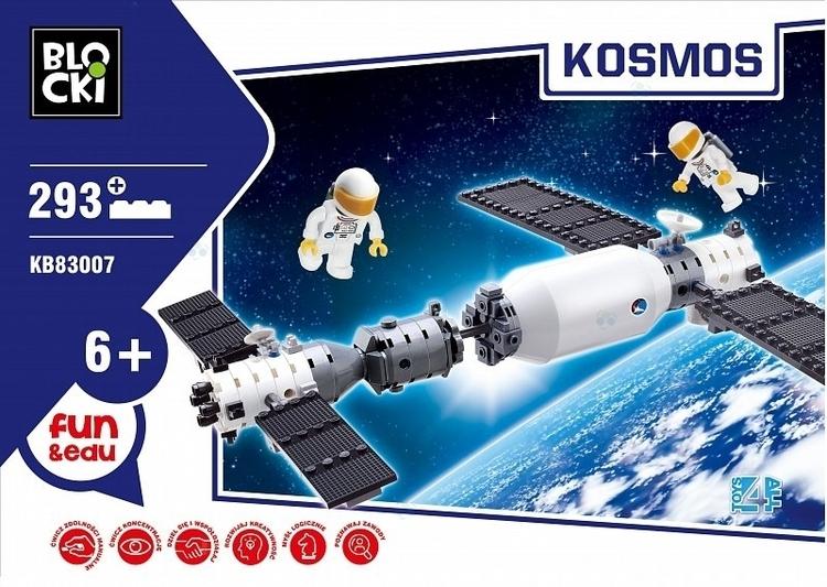 KLOCKI BLOCKI KOSMOS 293 EL.