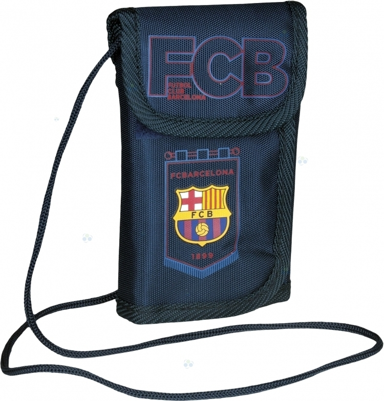 PORTFEL NA SZYJĘ FC BARCELONA FC-102 BARCA THE BEST TEAM 4 M