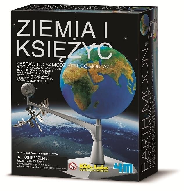 ZIEMIA I KSIĘŻYC - KIDZ LABS 4M