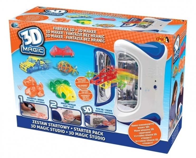3D MAGIC ZESTAW STARTOWY Z URZĄDZENIEM 3D REKLAMA