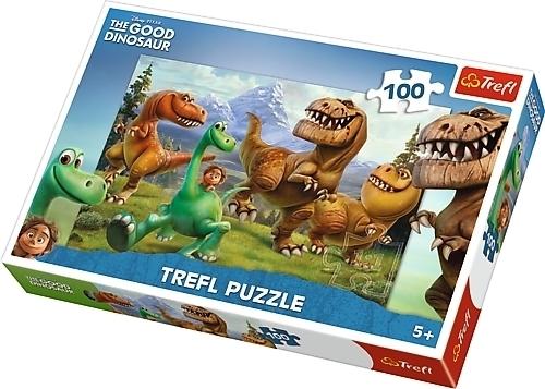 Dobry dinozaur Puzzle Maxi 100 el. Clementoni