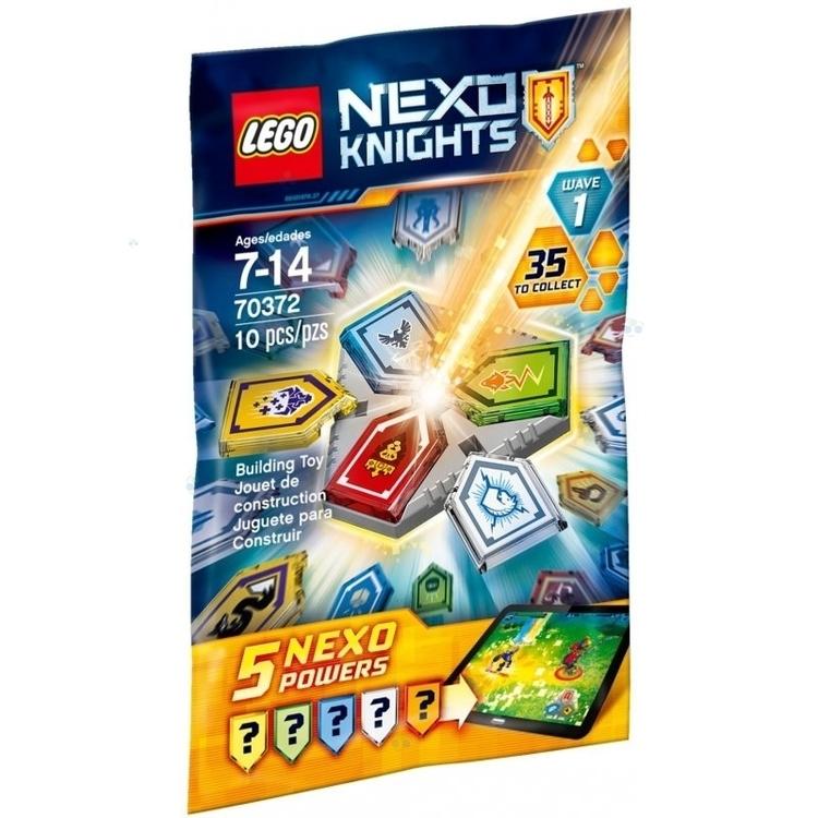 Klocki Lego Nexo Combo Moce 70372 #N1