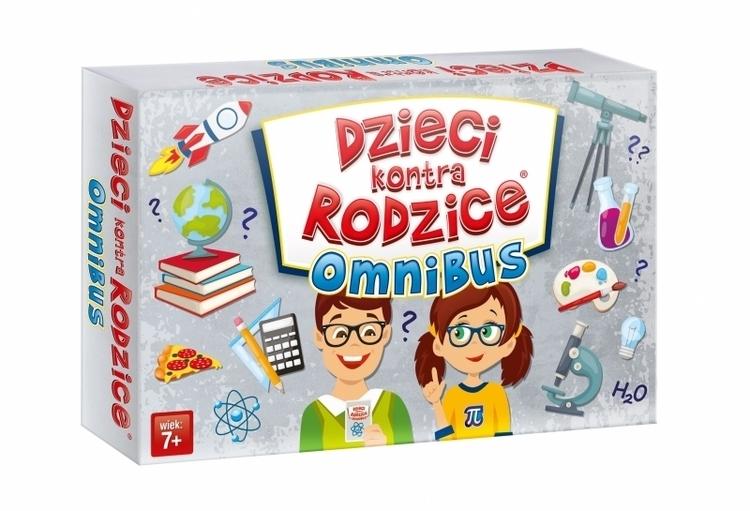 Gra rodzinna Dzieci kontra rodzice: omnibus