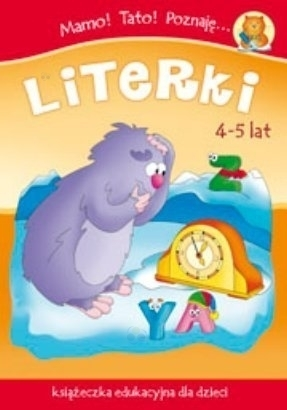 Mamo Tato Poznaję literki. Książeczka dla dzieci 4-5 lat