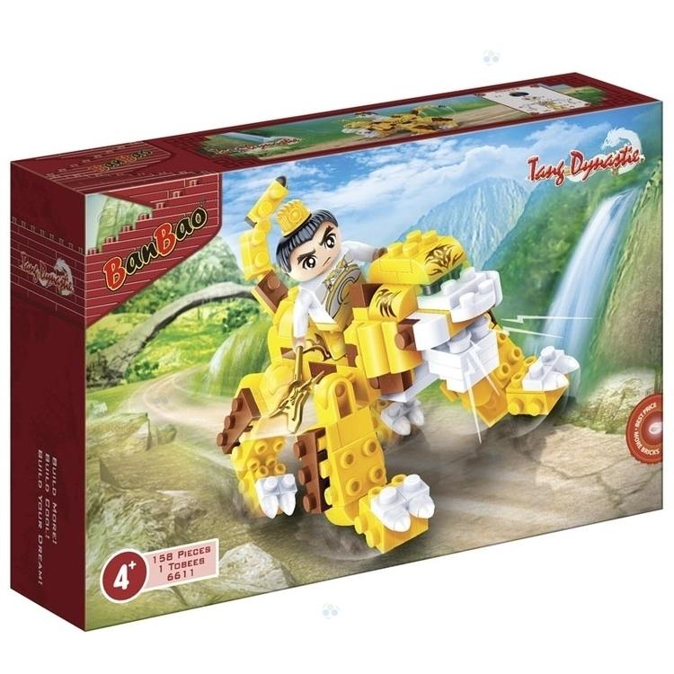 Klocki BanBao 6611 Dynastia Tang Ninja na Tygrysie 158el #N1