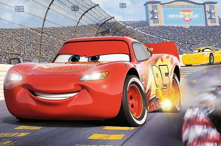 PUZZLE AUTA CARS 3 24 MAXI ELEMENTY