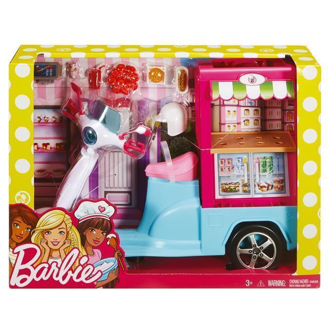 Barbie Mobilny bufecik Mattel FHR08