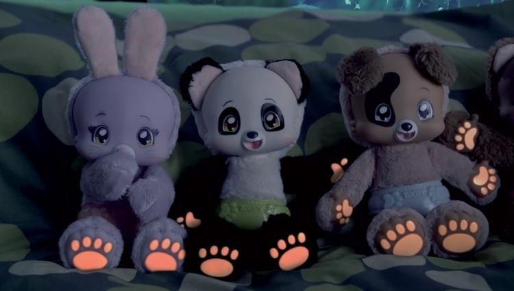 ZOOPY BABIES PLUSZOWA MASKOTKA PANDA DŹWIĘKI