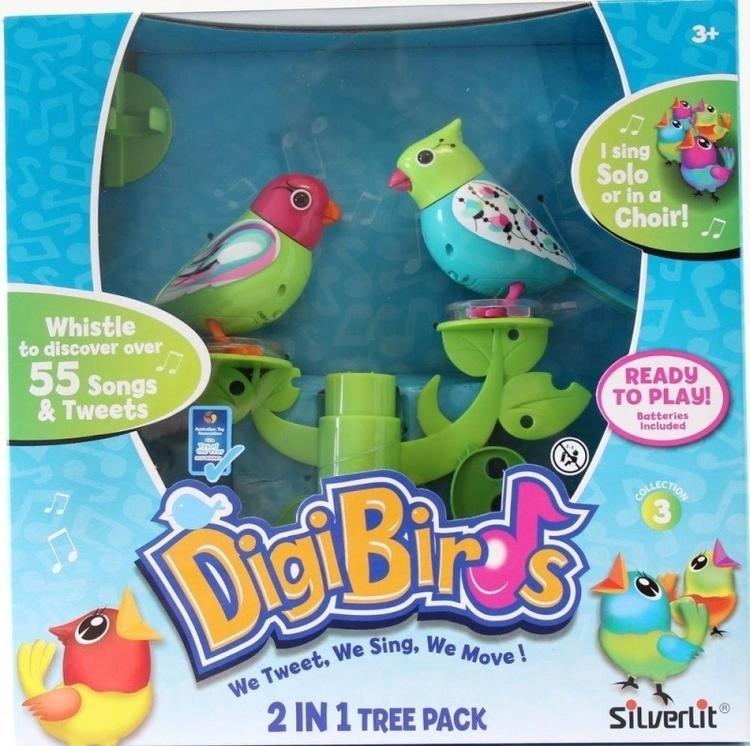 DIGIBIRDS SERIA 3 ŚPIEWAJĄCE PTASZKI NA DRZEWIE DUET