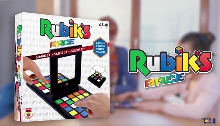 RUBIKS RACE GRA LOGICZNA REKLAMA