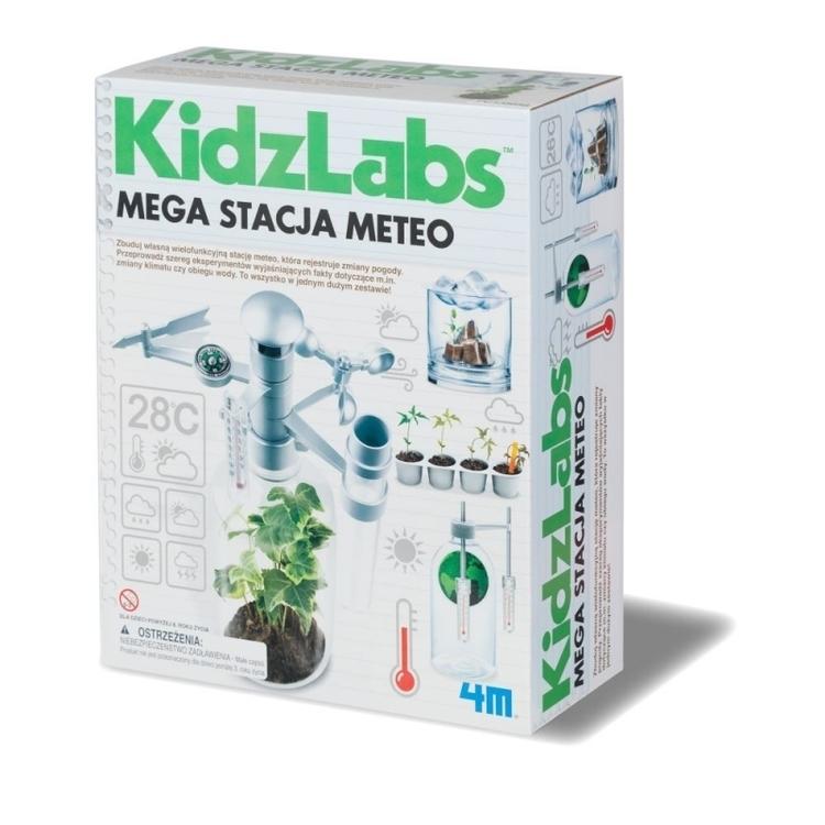 MEGA STACJA METEO KIDZ LABS 4M