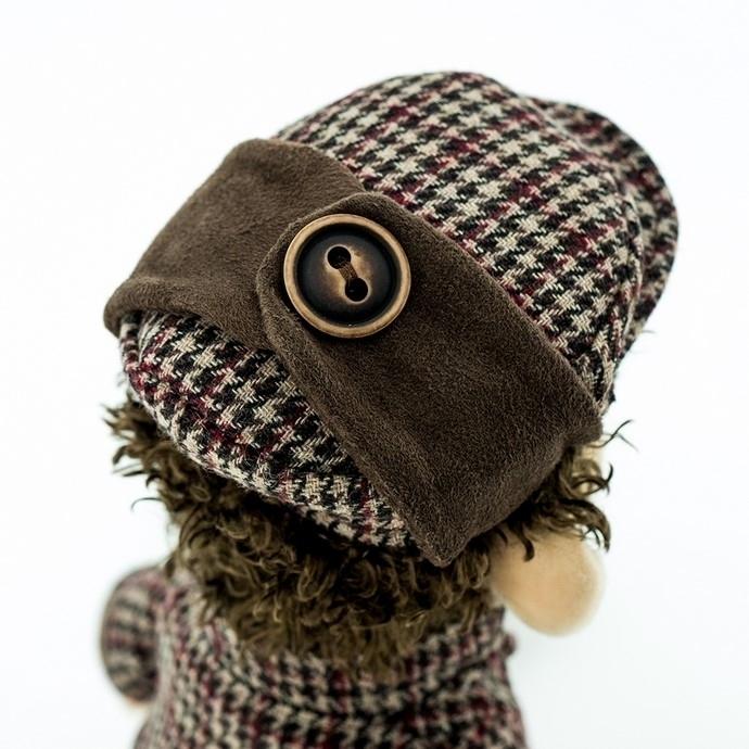Przytulanka Małpka Sherlock - 40cm #T1