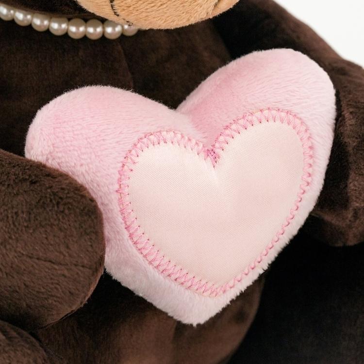 Przytulanka Pani Milk z sercem - 15cm #T1