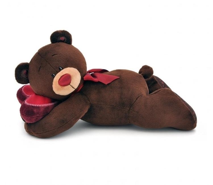 Przytulanka Pan Choco śpiący miś - 20cm #T1