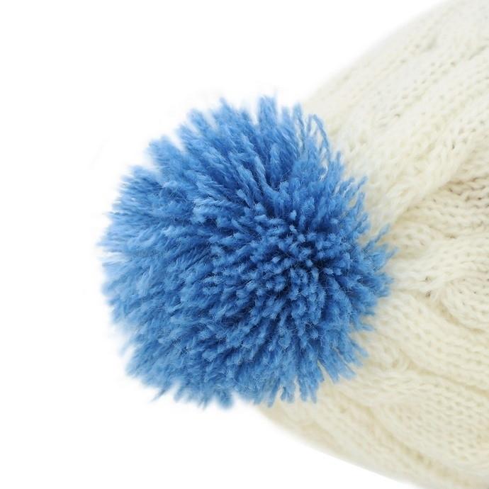 Przytulanka Jeżyk w biało-niebieskiej czapce - 25 cm