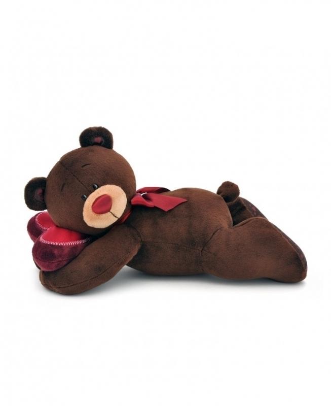 Przytulanka Pan Choco śpiący miś 30cm #T1