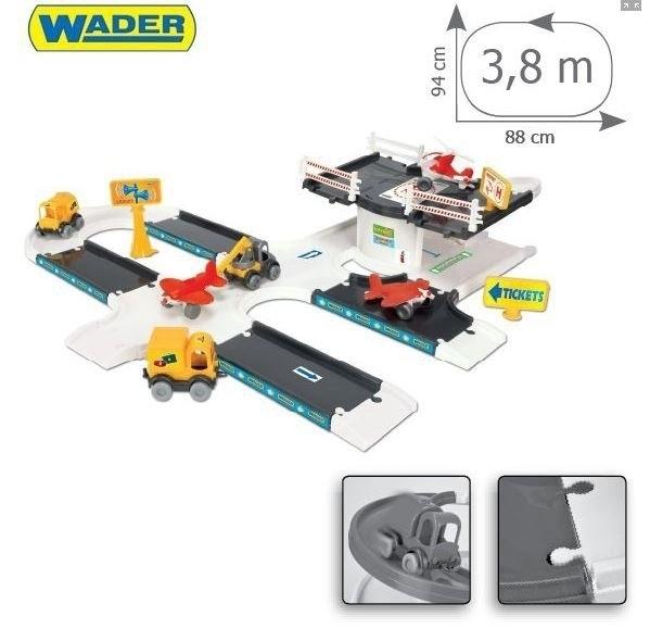 KID CARS 3D BAZA LOTNICZA WADER 53350C #A1