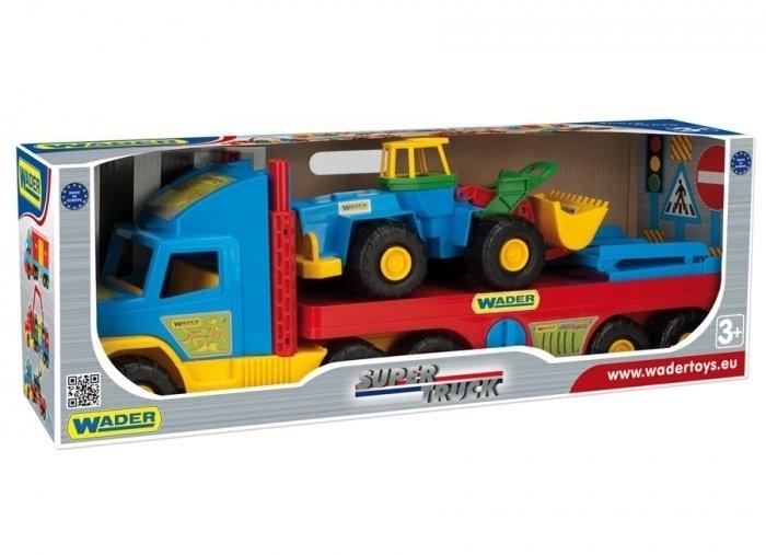 Wader Super Truck Lora Transportowa 36520 #A1
