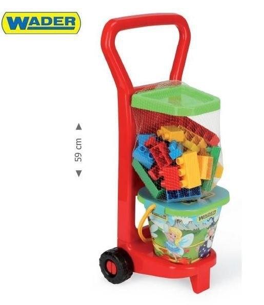 Wader 10777 Wózek z Klockami #A1