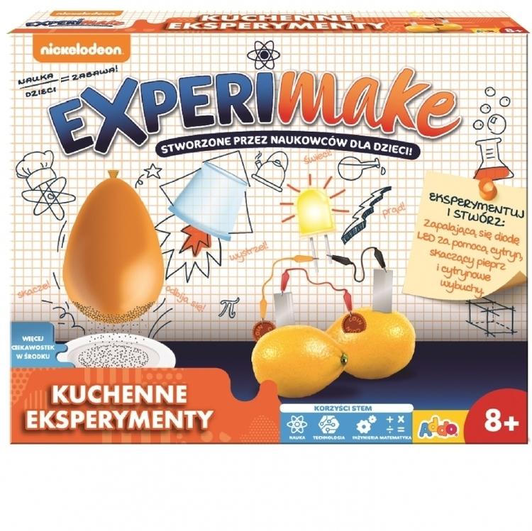 KUCHENNE EKSPERYMENTY EXPERIMAKE
