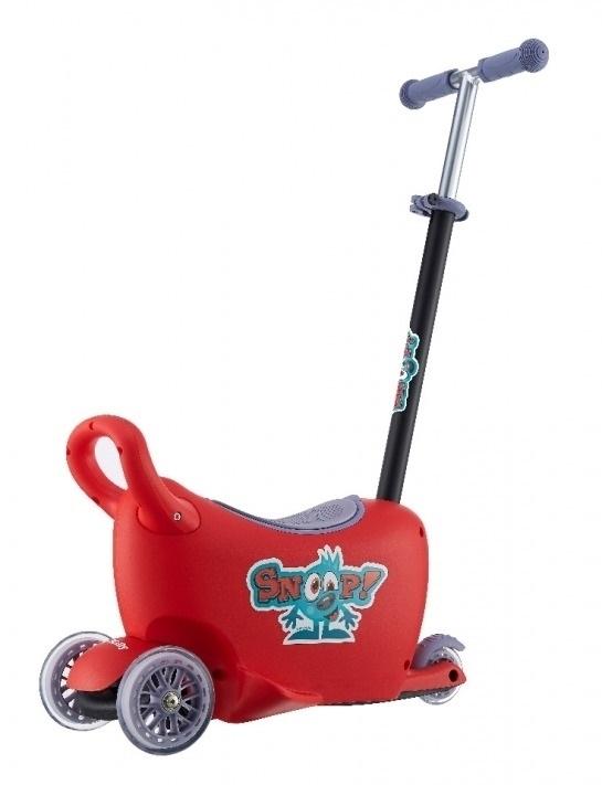 Jeździk SNOOP 3w1 red #B1