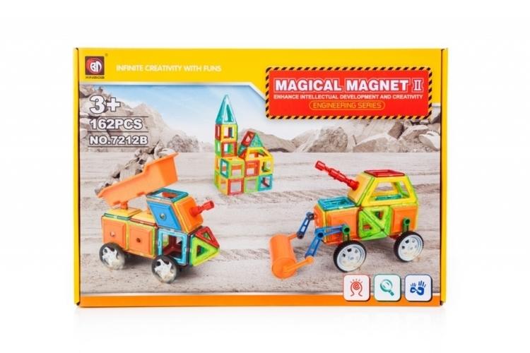 KLOCKI MAGNETYCZNE MAGICAL MAGNET 162 EL #E1