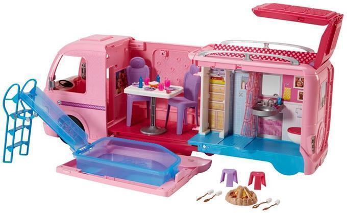 Lalka Barbie Wymarzony kamper Mattel FBR34