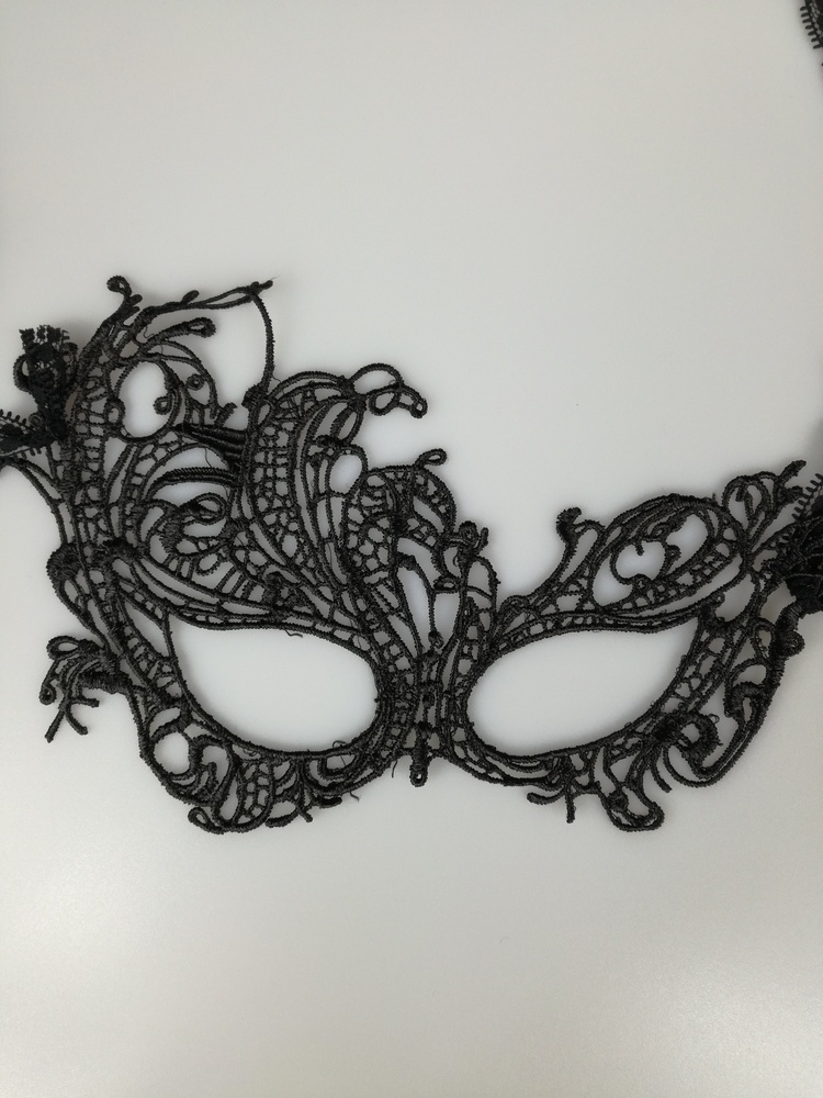 Maska koronkowa - jak 50 twarzy Greya