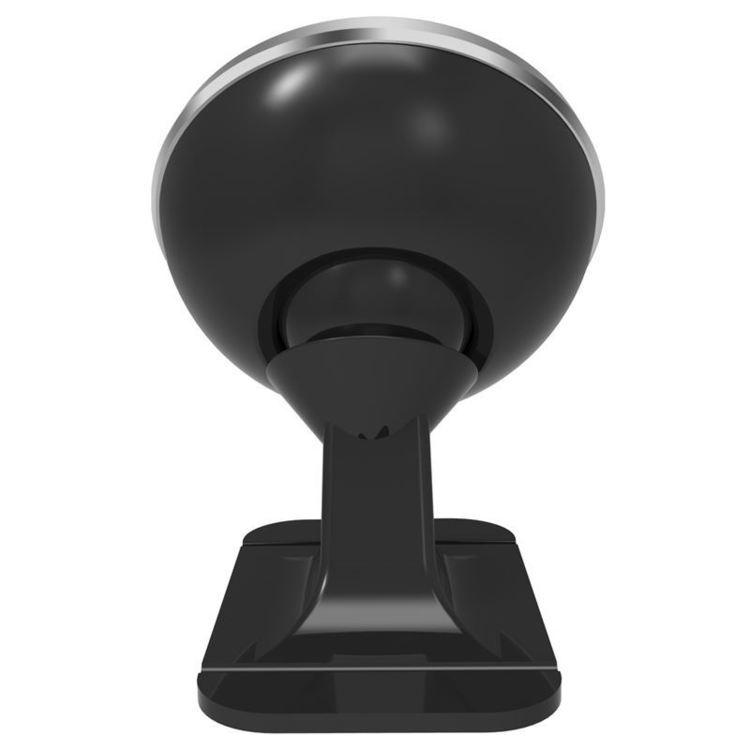 Baseus 360-degree Rotation Magnetic Mount Holder - Uchwyt magnetyczny na deskę rozdzielczą samochodu (srebrny/czarny)