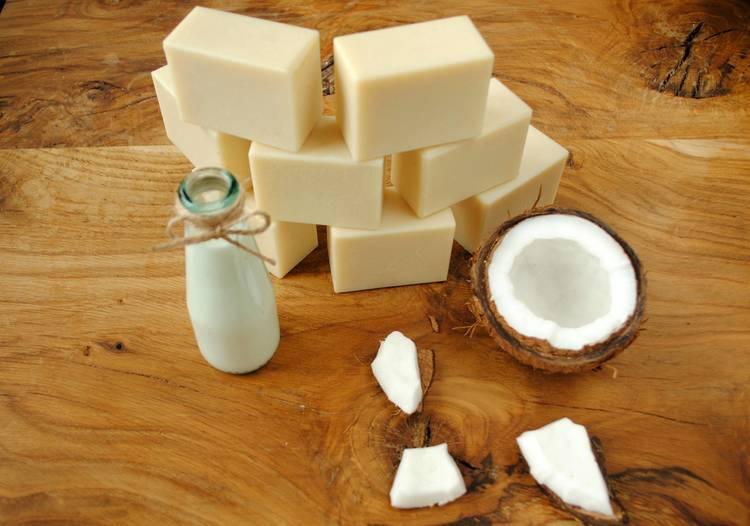Mydło z mlekiem kokosowym