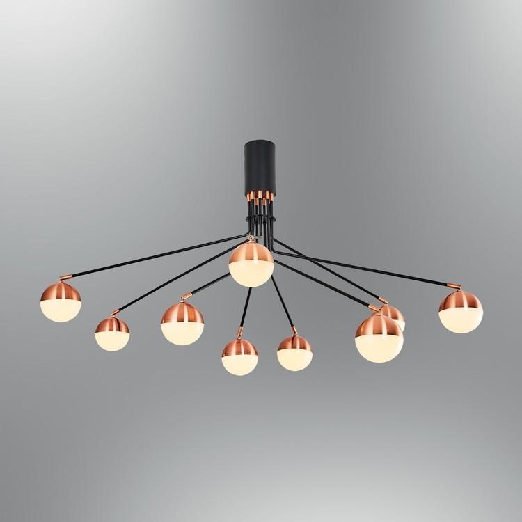 Lampa sufitowa plafon nowoczesny ozcan kuchnia  jadalnia salon sypialnia 4027-9