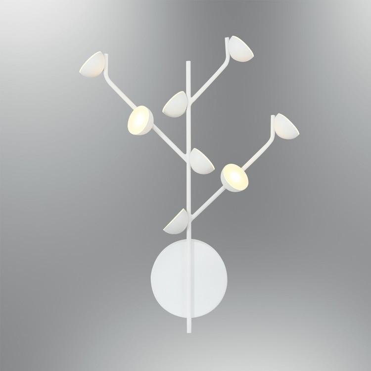 Nowoczesny biały kinkiet 5378-APL2 ozcan  jadalnia salon sypialnia przedpokój