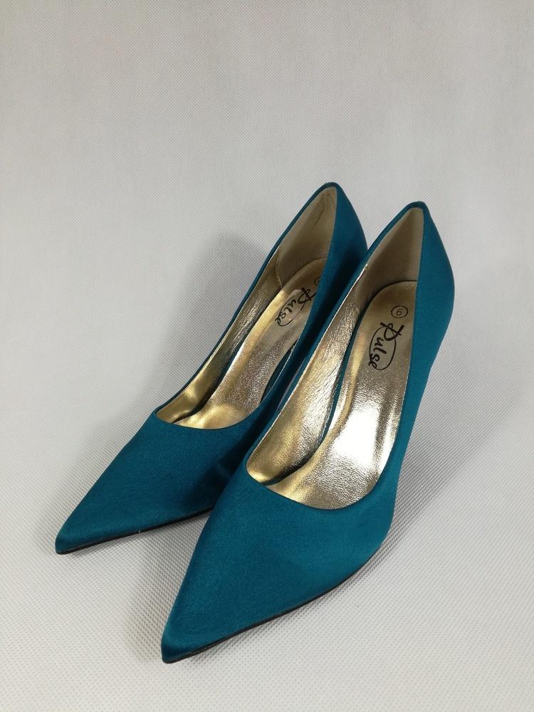 SUPER!!! buty szpilki satynowe