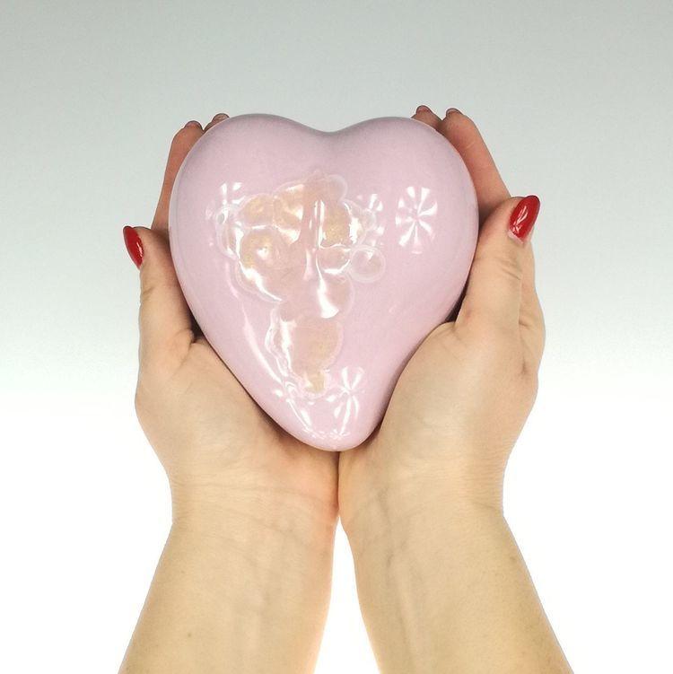 Ceramiczne serce Amor by Lady Kate