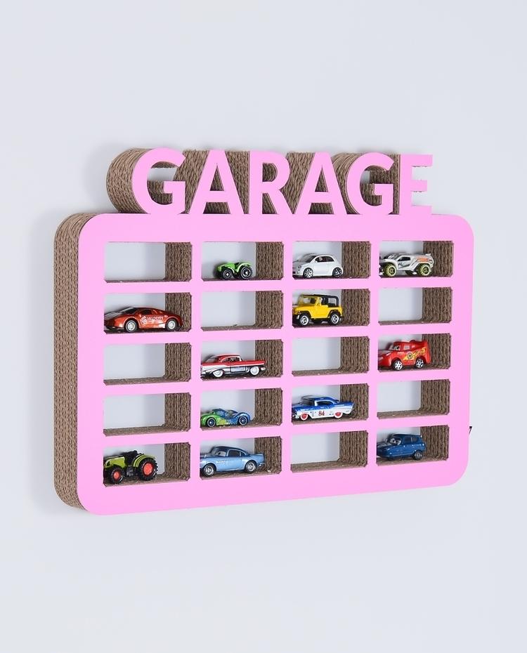 Półka na resoraki ORGANIZER na samochodziki GARAŻ