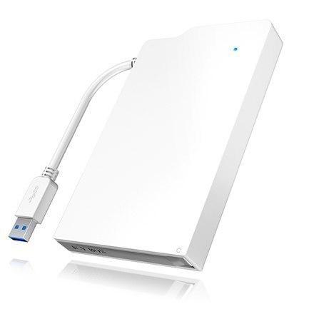 "Icy box IB-AC606-U3 2,5"" SATA to USB 3.0 Raidsonic External enclosure for 2.5"" SATA HDDs/SSDs sata, USB 3.0 w Strefie Komfortu"