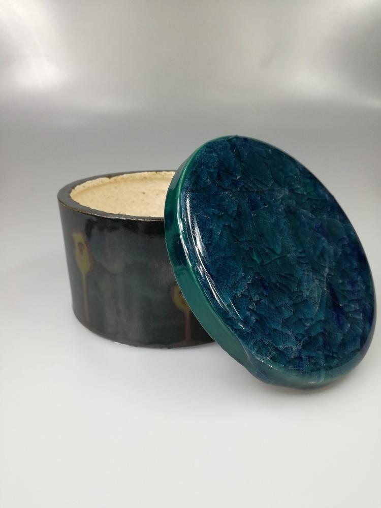 Szkatułka pojemnik ceramiczny