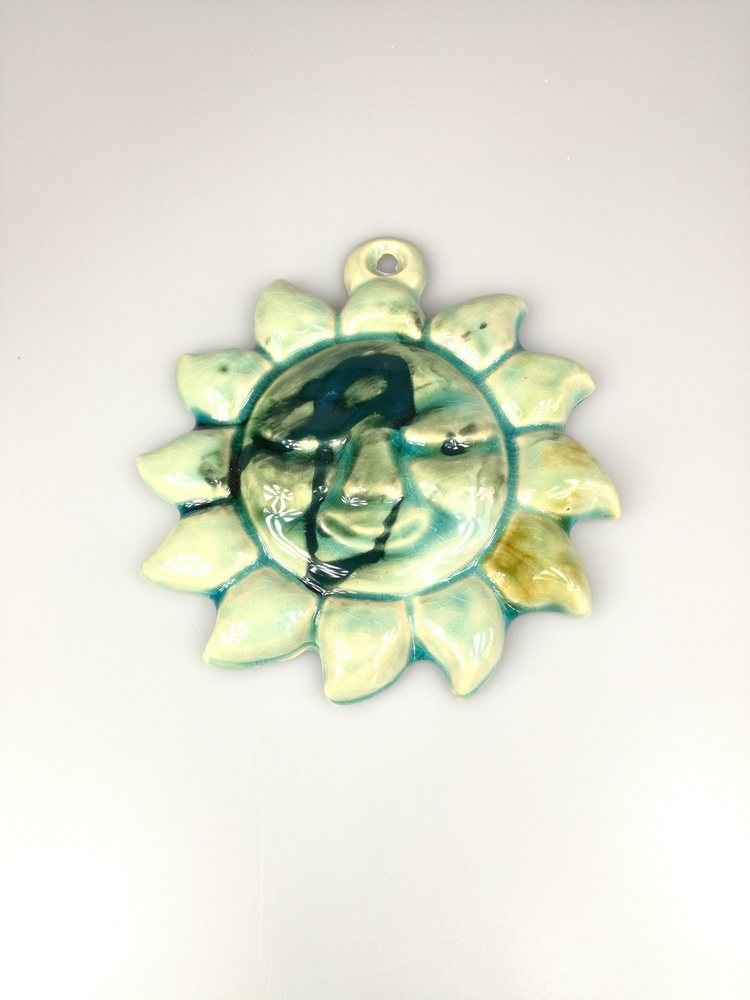 Ceramiczne słońce