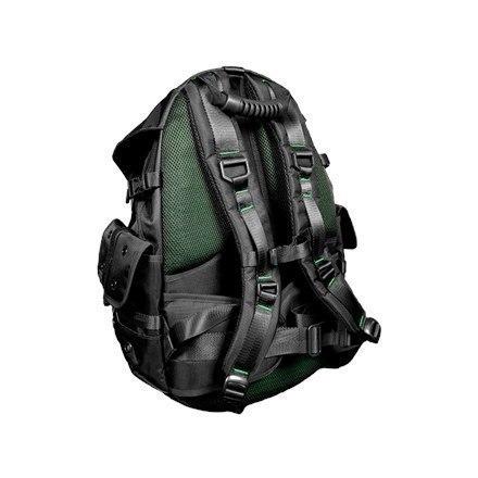 "Razer Mercenary Fits up to size 14 "", Black, Shoulder strap, Backpack, Waterproof w Strefie Komfortu"