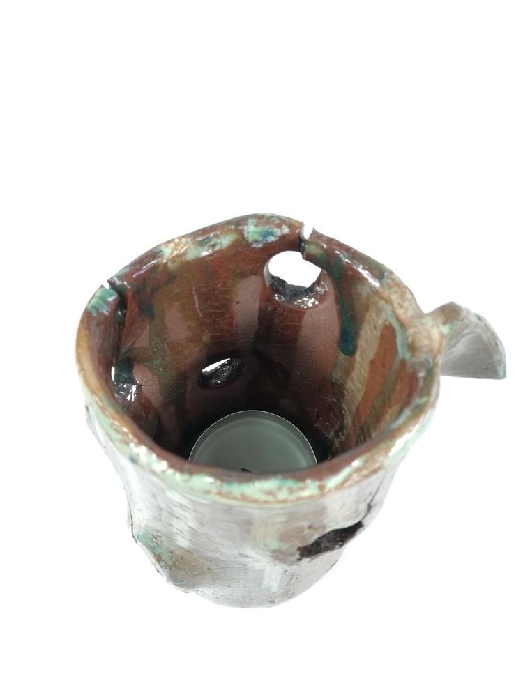 Świecznik ceramiczny by Lady Kate