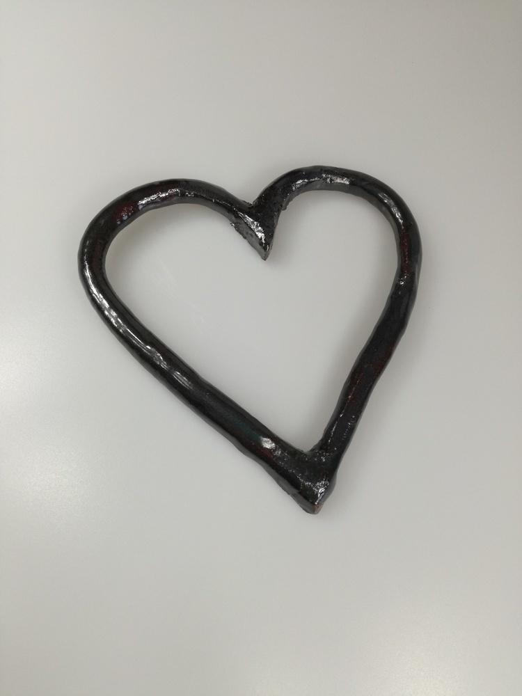 Ceramiczny dekor serce by Lady Kate