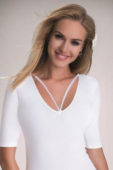 Body Dagmar Kolor Biały Rozmiar L