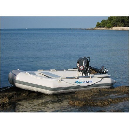 Viamare 250 T, PVC Inflatable Boat, 2+1 person(s) w Strefie Komfortu