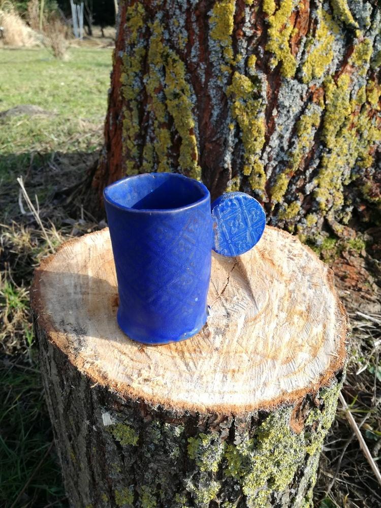 Kubek ceramiczny Wielki Błękit by Lady Kate