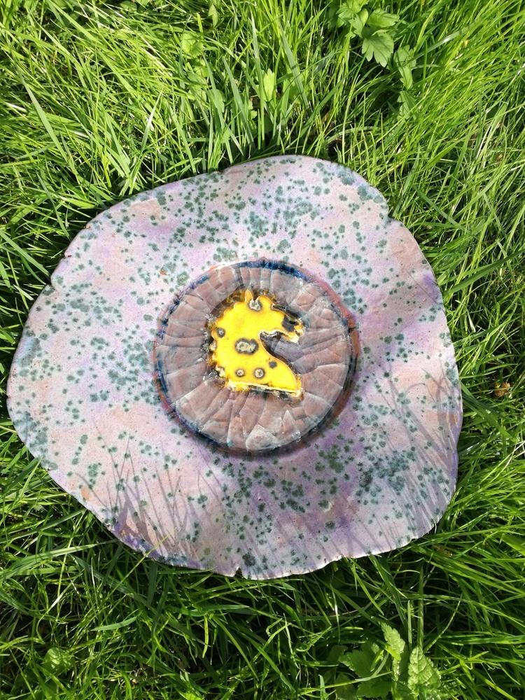 Patera ceramiczna  z koniem by Lady Kate