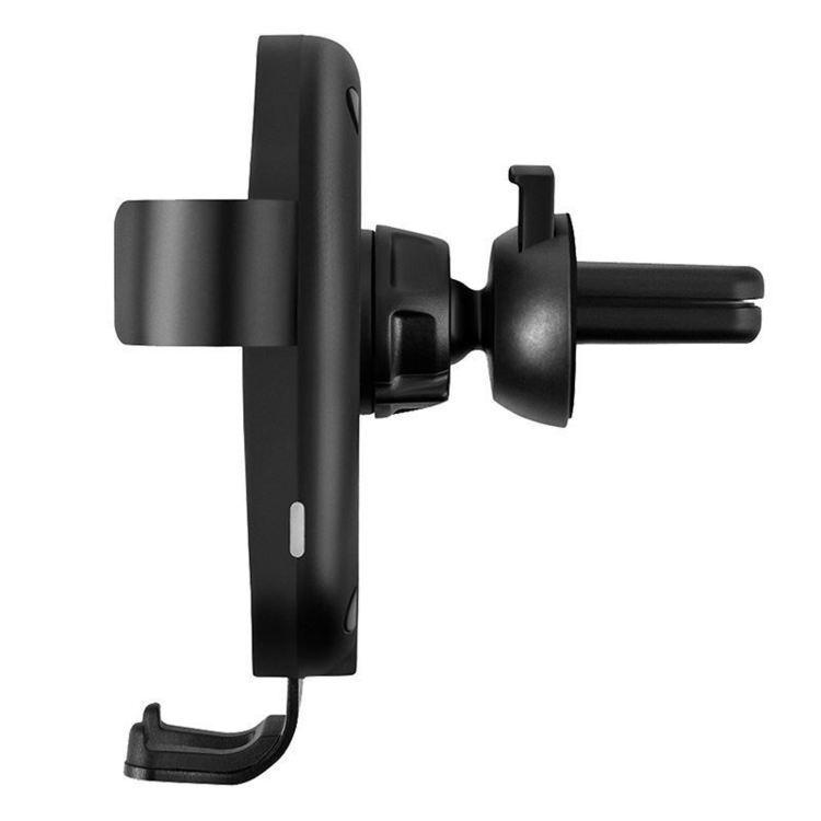 PURO Autofit Fast Wireless Car Holder - Uchwyt samochodowy z ładowaniem indukcyjnym Qi, 10 W (czarny)