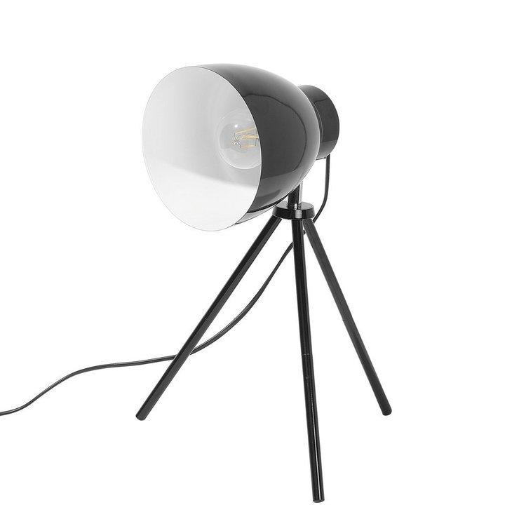 Lampa stołowa czarna 43 cm TAMEGA