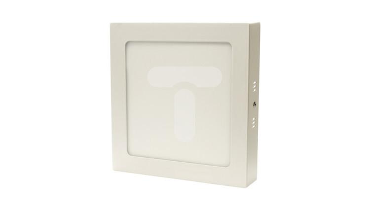 Plafoniera panel LED 12W 720lm 3000K kwadratowa IP22 biała CL4-S-12W